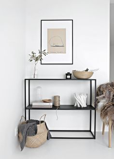 gorgoussss little space | entry way, open shelving, shelf decor, home inspiration, house, living space, room, scandinavian, nordic, inviting, style, comfy, minimalist, minimalism, minimal, simplistic, simple, modern, contemporary, classic, classy, chic, girly, fun, clean aesthetic, bright, white, pursue pretty, style, neutral color palette, inspiration, inspirational, diy ideas, fresh, stylish, 2017, sophisticated
