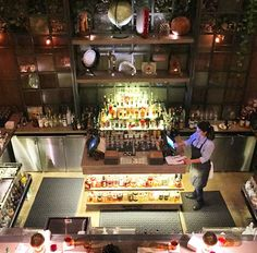 SIP   Follow the yellow brick road to the Emerald City of the Gold Coast - Nico Osteria's Reseve Bar.