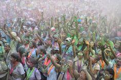 Color Vibe 5K Santo Domingo llena de color a miles de dominicanos | NOTICIAS AL TIEMPO