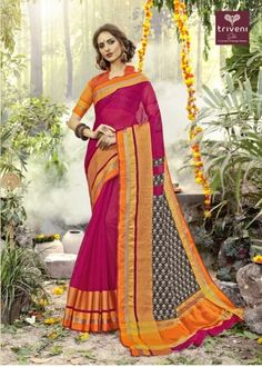 50969b02313ef6  triveni  kalyani  cotton  silk  designer  sarees