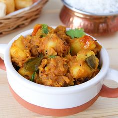 A super flavorful and spicy South Indian side made with potatoes and other aromatic spices.