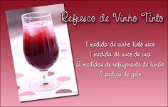 * Suco de uva daqueles prontos para beber já adoçados (de caixinha). * Pode usar suco e refri na versão zero açúcar. *Este produto é destinado a adultos.
