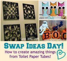 Unique toilet paper tube craft ideas!