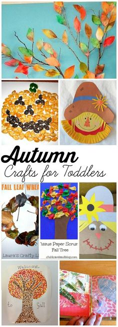 Autumn Crafts For Your Toddler: Favorite Autumn crafts for kids that are sure to inspire you to create something special this season!
