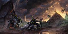 The Sci-Fi and Fantasy Art of Aurelien Rantet | Artist