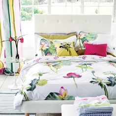 Peony Pink Floral Bedding