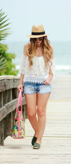 Beach outfit my looks summer vacation outfits, beach casual Fashion Style Summer, Look Fashion, Beach Fashion, Fashion 2017, Orlando Florida, Travel Clothes Women, Clothes For Women, Outfit Strand, Tumblr Outfits