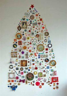 árvore de natal diferente não tem como descrever | christmas