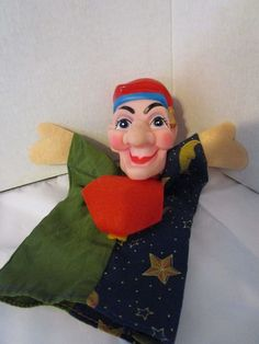 Vintage Mr. Rogers Neighborhood Colorful Hand Puppet Cloth Body and Vinyl Head #Unbranded
