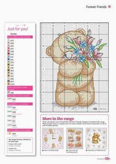 forever friends cross stitch patterns free