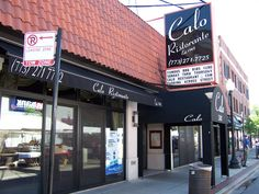 Calo's Ristorante-Andersonville-Chicago,IL  I wasn't thrilled with the service, but the food was delicious.  Recommended:Rigatoni con pollo e funghi: Grilled chicken, porcini, portobello and shitake mushrooms  in a creamy chardonnay wine sauce, drizzled with white truffle oil.  Also, Polipo alla griglia:Baby octopus marinated and grilled; served over sautéed spinach