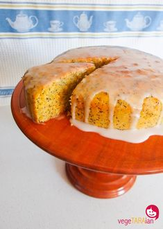 Tefal Cuisine Companion and a fabulously easy cake Veg Recipes, Vegetarian Recipes, Cooking Recipes, Recipies, Vegan Cake, Vegan Desserts, Vegan Food, Orange Poppy Seed Cake, Vegan Substitutes
