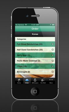 Food Ordering Feature. Allow restaurants customers to place food orders directly inside the mobile app or mobile website. Customers spend more on their food orders with their mobile phones. They can choose from your menu in their own time, unlike when they are standing in a queue and feel they have to rush the order.