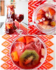 Para as festividades de fim de ano, veja como preparar um delicioso ponche de frutas sem álcool. A delícia vai refrigerante, suco de uva e muitas frutas!