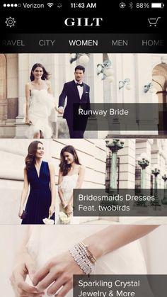 Gilt - Shop Designer Sales Screenshots