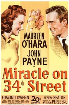 After Thanksgiving dinner we always watch Miracle on 34th Street one of my favorite traditions.