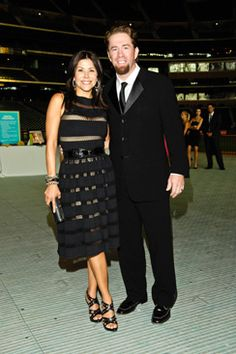 Ericka Bagwell and Jeff Bagwell