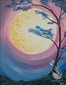 "$25 SPECIAL! Create your own ""Mystical Moon"" while having fun with friends!  (Thursday, Aug 4 @ 12pm)"