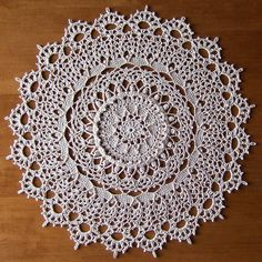 "from the book ""Heirloom Crochet For The Bedroom"" by Patricia Kristoffersen - a set on Flickr - photos and completed doilies by Elaine Pawelko"