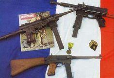 3 french machine guns employed in Indochina war First Indochina War, Machine Guns, Military Weapons, Vietnam War, Photo Archive, Firearms, Dragon, French, Art