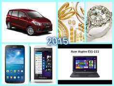 New car in March 1, 2015 and some new gadgets