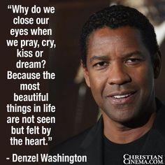Quote by Denzel Washington