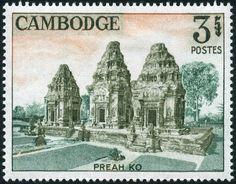 Preah Ko CE), Hindu temple in Prasat Bakong Hindu Temple, Buddhist Temple, Laos, Brunei, Timor Oriental, Mount Meru, Khmer Empire, Philippines, Interesting Buildings