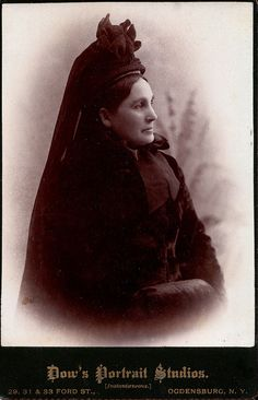 Magnificent Mourning, Albumen Cabinet Card, Circa 1885. © Ann Longmore-Etheridge Collection. | Flickr - Photo Sharing!