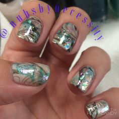 Seashell nails by me