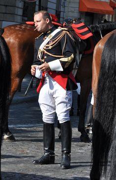 https://flic.kr/p/a9nR2n   Garde Republicaine Francaise - Guardia Republicana Francesa   La escolta a caballo y motorizada del Presidente de France. President of France Cavalry and Motorcyclist Escort