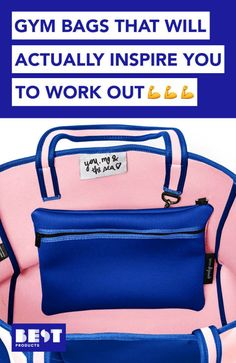 Even your gym outfit can be chic with these workout bags!