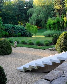Just loved discovering these steps into a meditation g… - All For Garden Landscape Plans, Garden Landscape Design, House Landscape, Landscape Architecture, Hard Landscaping Ideas, Garden Landscaping, Back Gardens, Outdoor Gardens, Zen Gardens