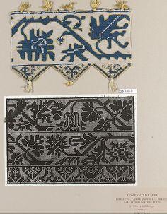 Band Date: 16th century Culture: Italian Medium: Silk on linen Dimensions: L. 6 7/8 x W. 4 1/4 inches 17.5 x 10.8 cm Classification: Textile...