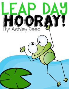 This freebie includes a simple scientific explanation for the reason behind Leap Year/ Leap Day.  It also includes a February calendar for students to complete and answer questions, an Earth and sun model for students to act out revolution, and a frog craft and writing prompt that integrates math.Enjoy! :)