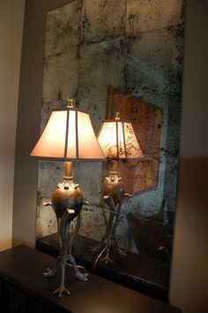How to Make a Rustic Patina Mirror   This is just beautiful. #DiyReady www.diyready.com
