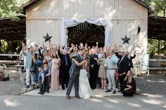 barn reception weddi