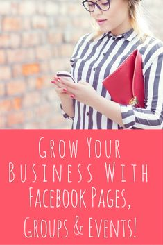 """Have you been wanting to grow your business with social media, but haven't been sure where to start? . """"Facebook Pages, Groups & Events"""" will teach you how easy it can be to multiply your traffic and engagement 10-fold or more, even if you're totally NEW to Facebook!"""