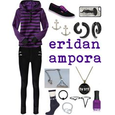 eridan ampora by heyitsmetayleee on Polyvore featuring Boohoo, Dorothy Perkins, Vans, Bling Jewelry, Dogeared, BERRICLE, Pieces, CellPowerCases, ORLY and Gap