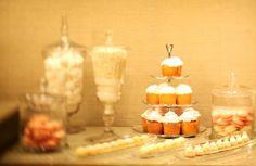 Bride's prep room