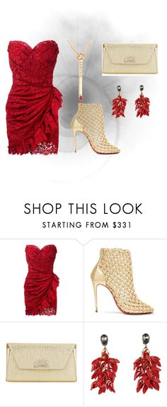 """Untitled #17"" by vanessa-fashion123 ❤ liked on Polyvore featuring Dolce&Gabbana, Christian Louboutin and Marni"