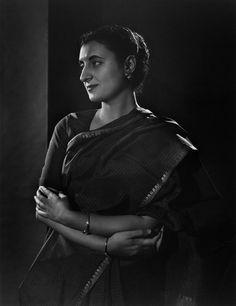 Indira Ghandi par Yousuf Karsh, 1956