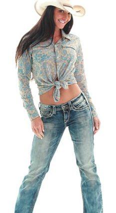 """""""Cowgirl Tuff"""" OMG Jean"""
