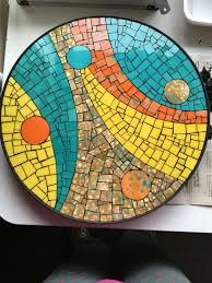 free mosaic patterns for tables Mosaic Tray, Mirror Mosaic, Mosaic Wall, Mosaic Tiles, Mosaic Flower Pots, Mosaic Pots, Mosaic Glass, Glass Art, Mosaic Stepping Stones