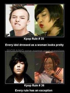 TOP Bigbang vs G Dragon Bigbang