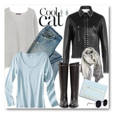 """Cool Cat"" by brendariley-1 ❤ liked on Polyvore featuring Violeta by Mango, Valentino, Nordstrom, Una-Home and Bling Jewelry"