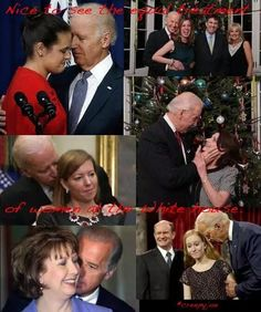 Biden's harassment against women should be STOPED Stupid People, Funny People, White Guilt, Creepy Joe Biden, Conservative Politics, Truth Hurts, Presidents, Hilarious, American