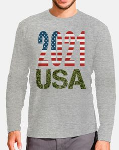 USA 2021 American Flag, Christmas Sweaters, Graphic Sweatshirt, Sweatshirts, Fashion, T Shirts, Elegant, Clothing, Moda