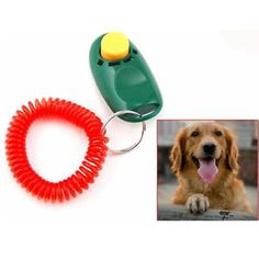 cool ft* Clicker para Entrenamiento de Perro Gato Animal Domestico PK
