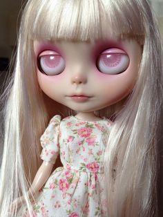 pink eyed Luna <3 by MilkyWaySugar