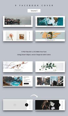 Creative Facebook Cover, Facebook Cover Design, Facebook Cover Template, Social Media Banner, Social Media Template, Social Media Design, Cover Photo Design, Facebook Brand, Gw
